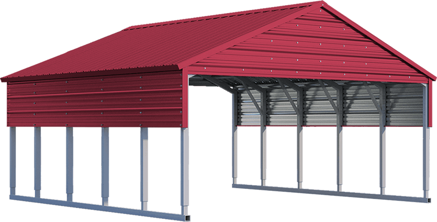 Carolina Carport Black : Carolina carports steel structures metal buildings for sale