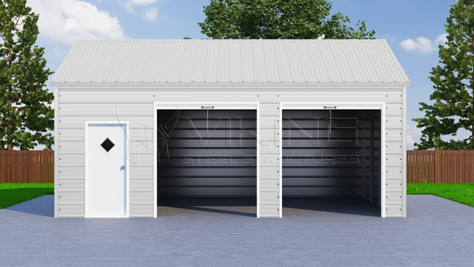 18x26 side entry garage