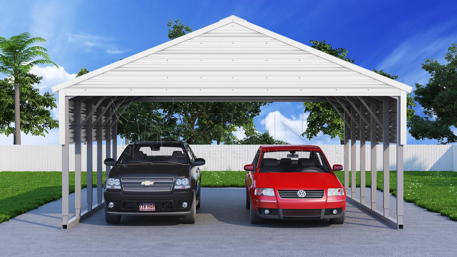 10 18 Metal Carport : Steel carport building
