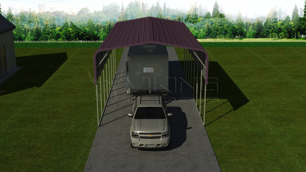 Pre-fabricated Metal RV Cover