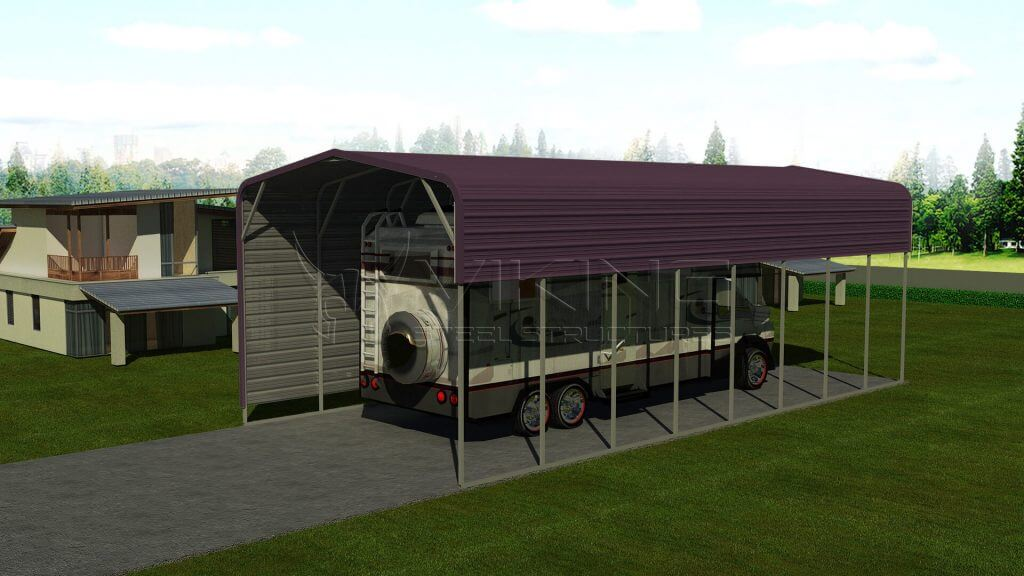 Metal RV Carport