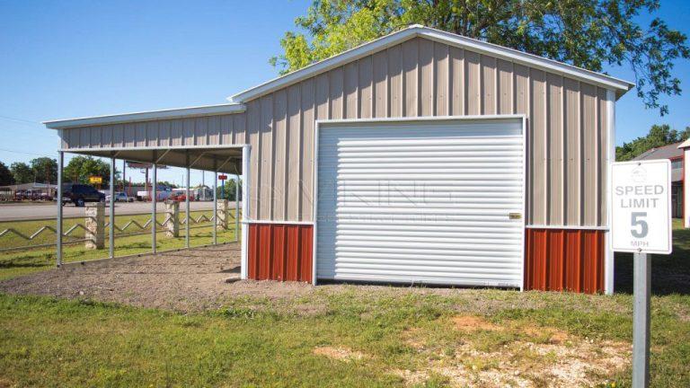 18x26x10 Custom Metal Building