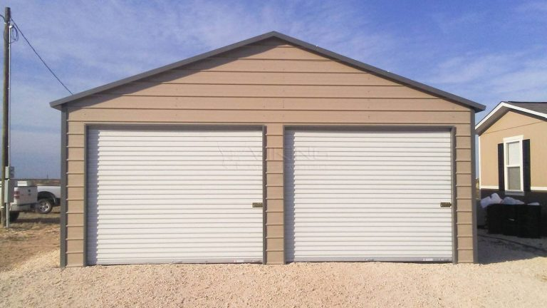 24x41x9 Enclosed Metal Garage