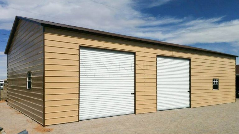 30x51x12 Metal Garage Workshop