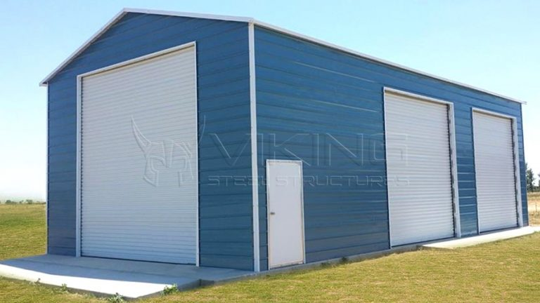 20x36 Enclosed Metal RV Garage