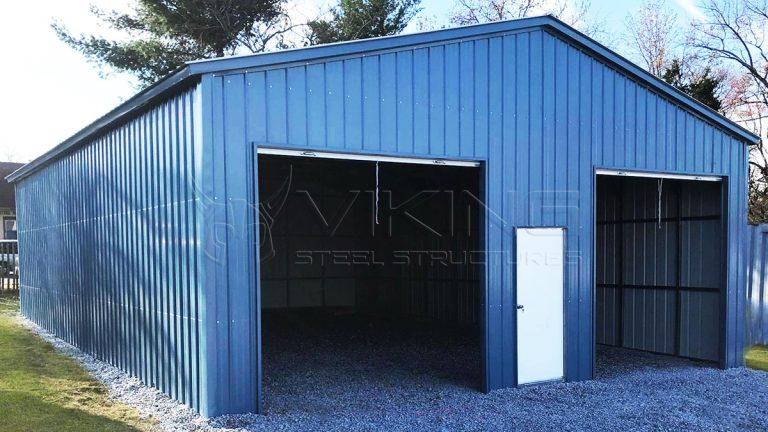 30x40x12 Metal Garage