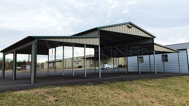 Metal horse barns lean to carports prices home for Cost of building a horse barn