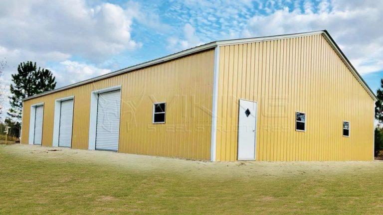 Commercial Steel Garages Inter : Commercial metal building prices clear span