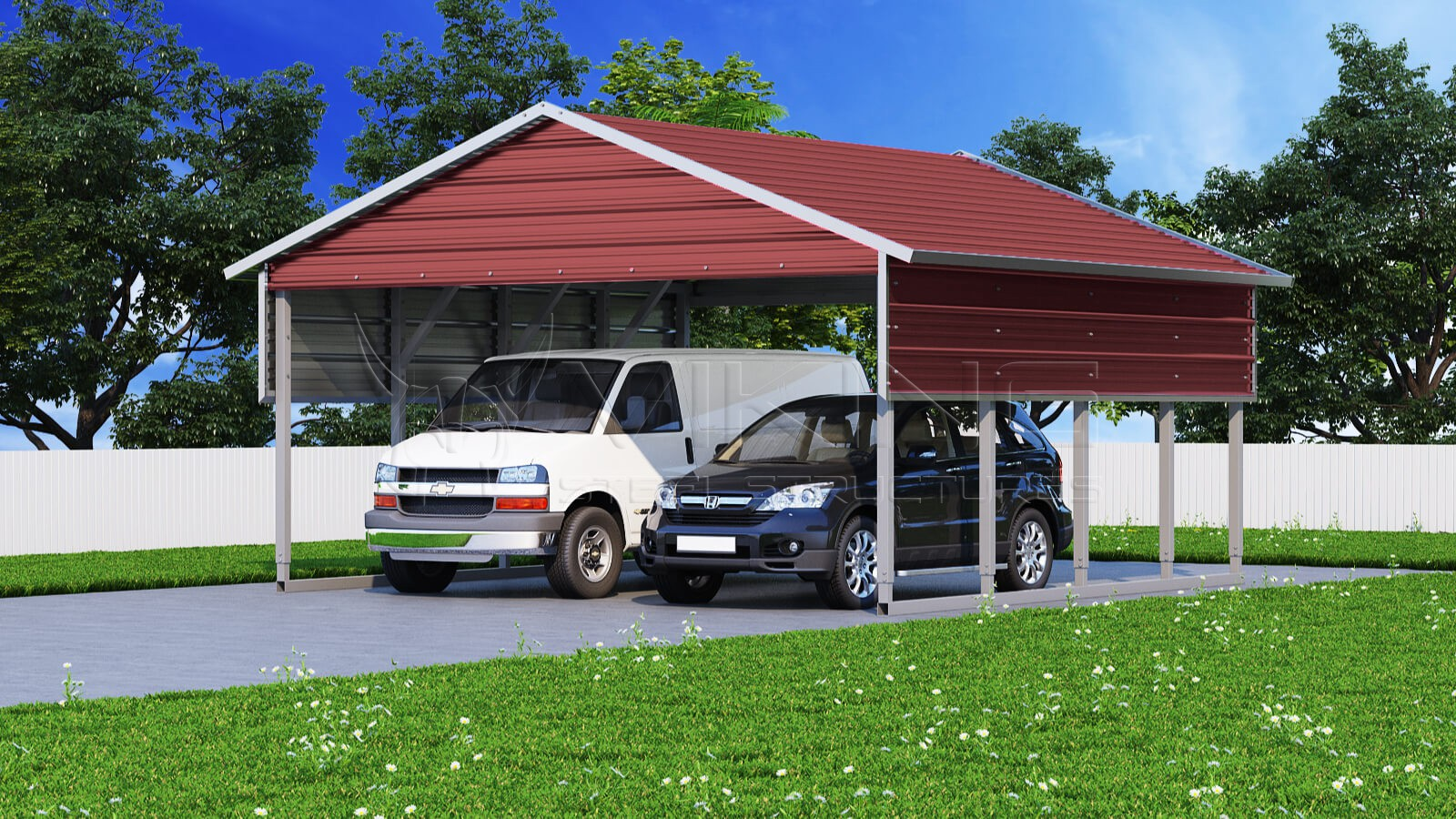 22x21-two-car-steel-carport-right-barn-red-image
