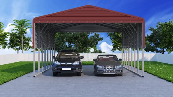 Custom Metal Carports : Metal carports steel car port kits carport