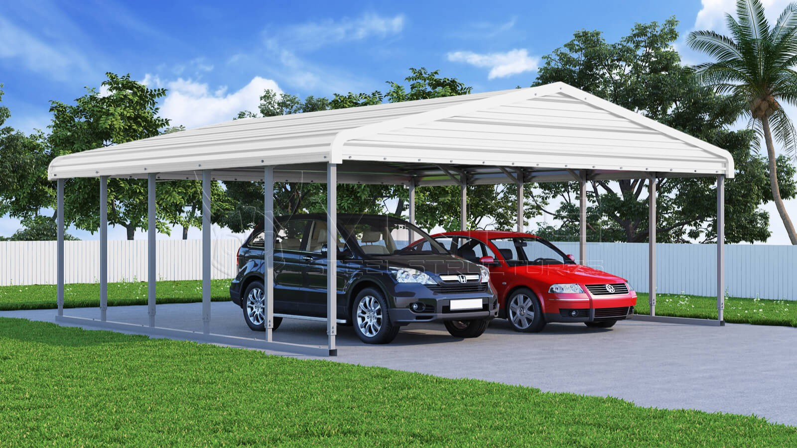 24x26-wide-steel-carport-left-white-image