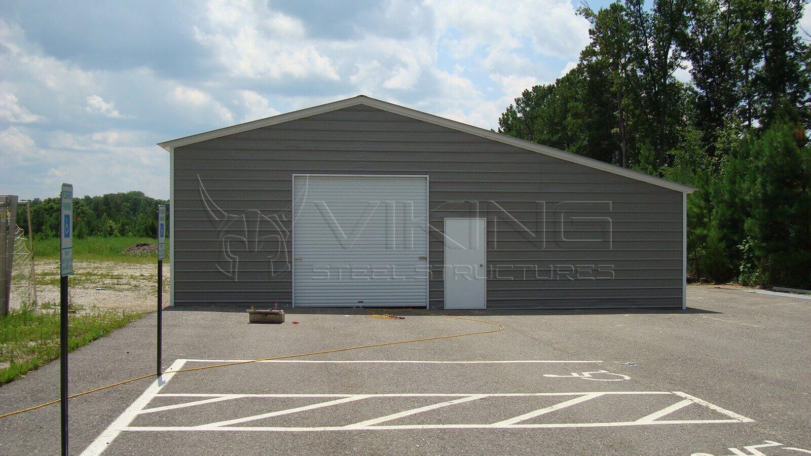 Enclosed Carport Metal Building : Viking steel structures metal carports barns garages