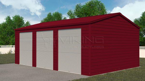 24x31 Metal Workshop Structure