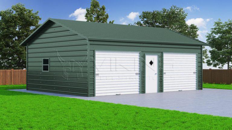 24 x 31 Vertical Garage