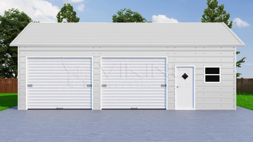 Pre-engineered Metal Garage