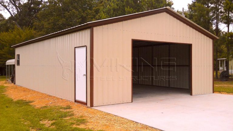 24x40x9 All Vertical Garage Workshop