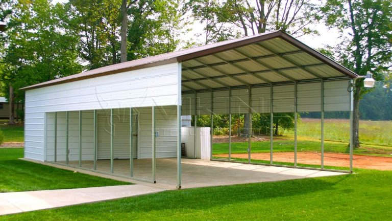 24x45x12 Vertical Roof Utility Building