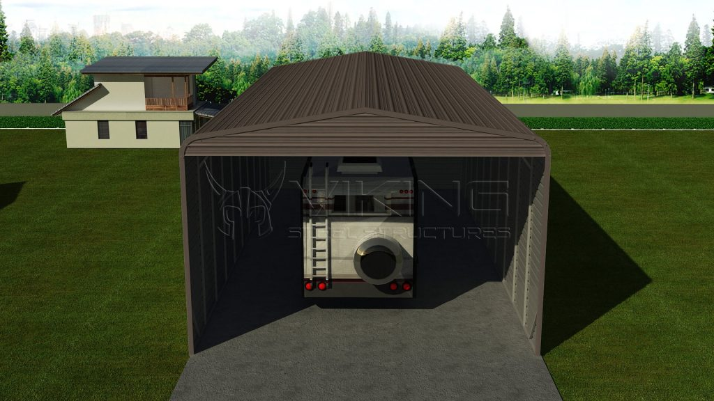 Steel RV Carport