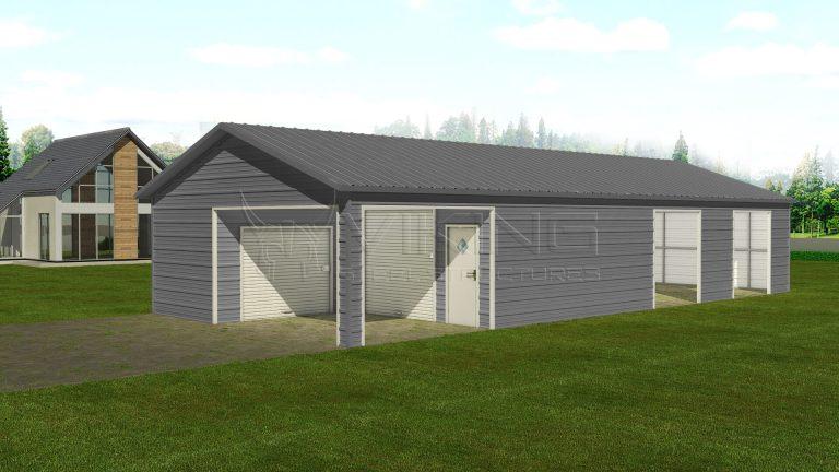 24 x 56 Vertical Style Custom Building