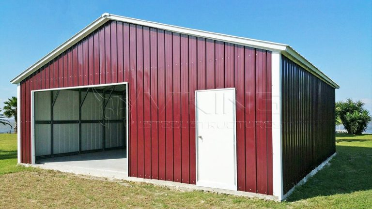 Metal garage prices steel garage enclosed garage for 30 by 30 garage cost