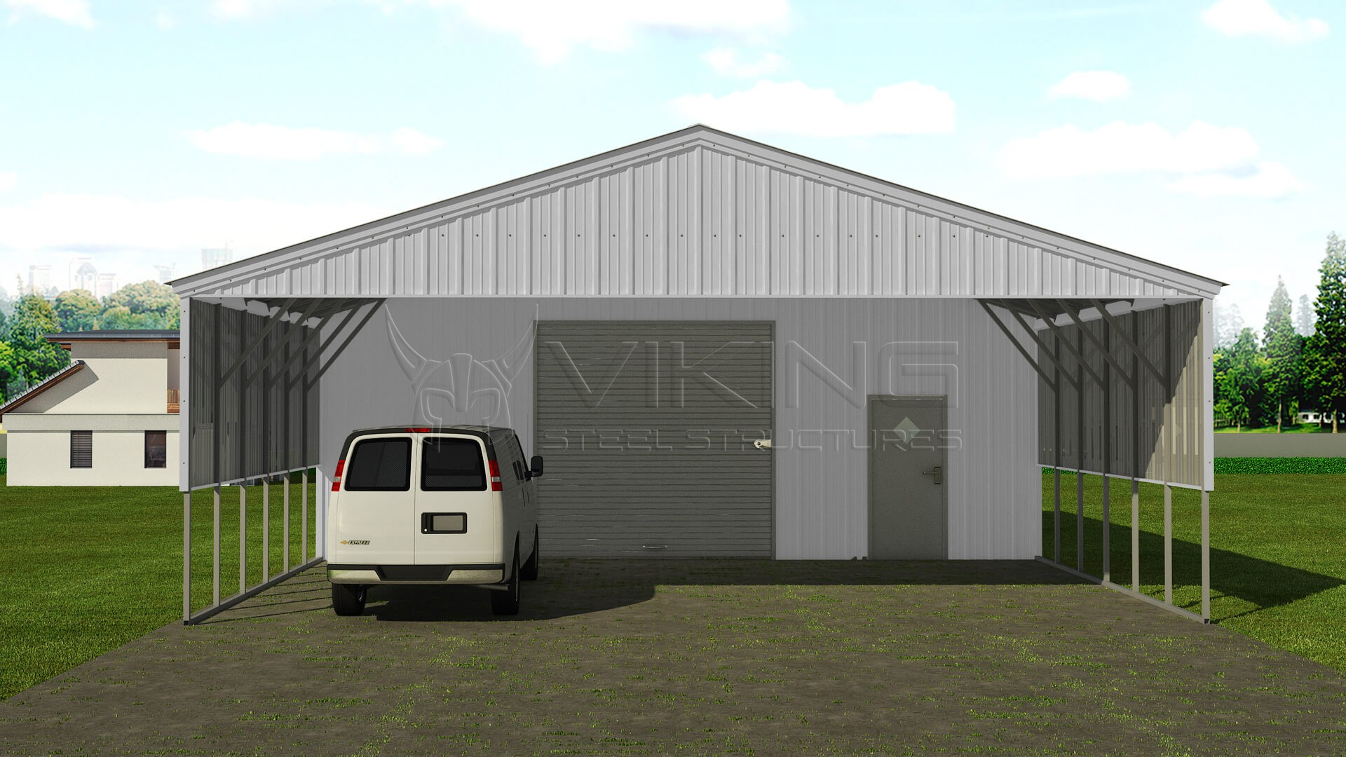 30x41 utility carport building for Carport builder