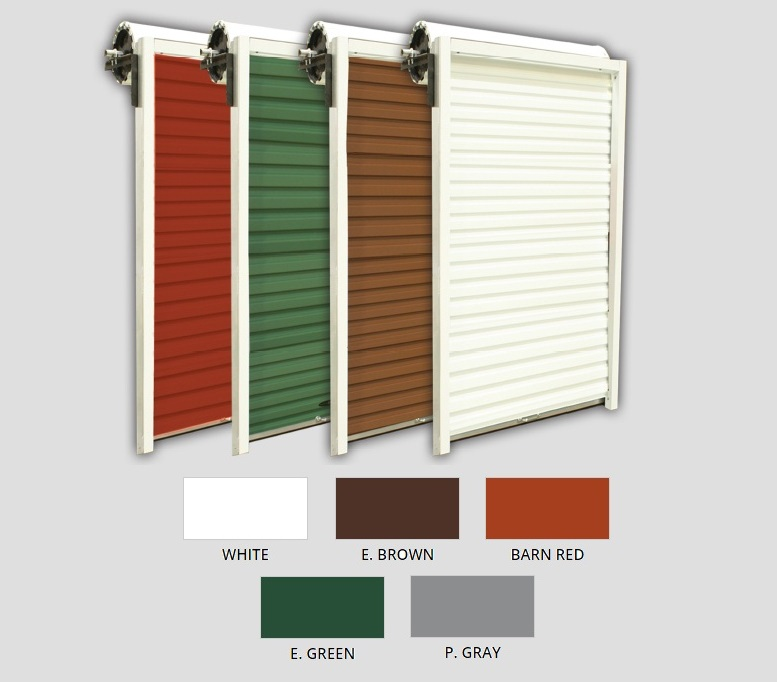 Garage Door Colors Options