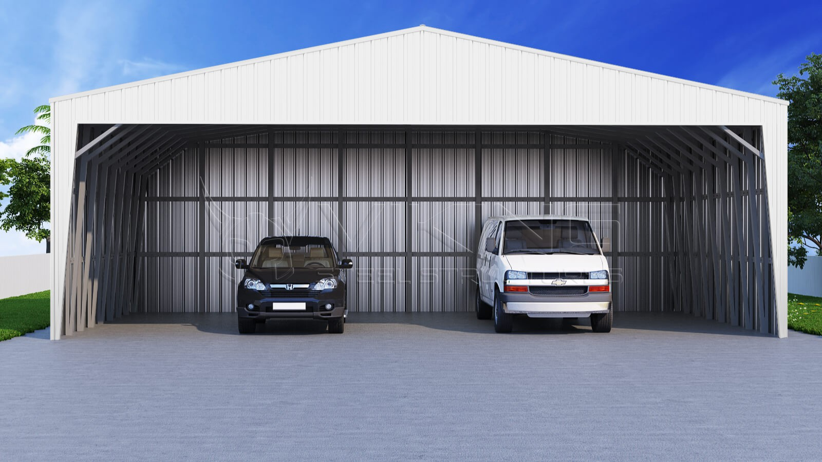 40x26 wide metal carport for Carport width