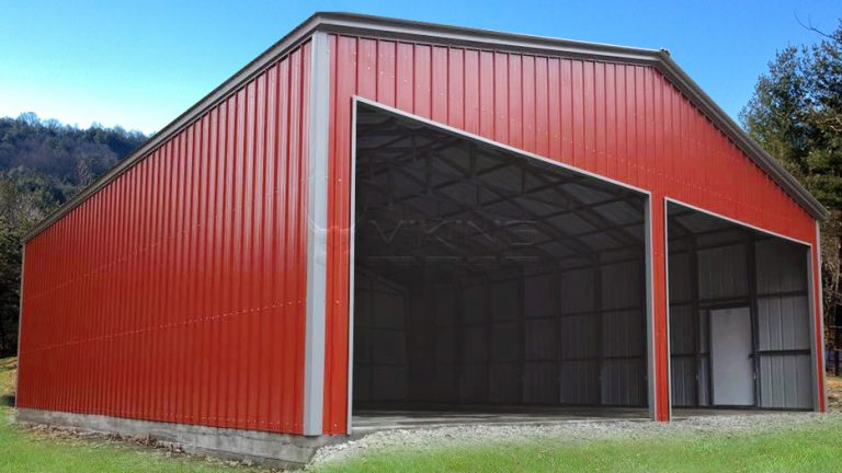 40x32 Metal Workshop Building