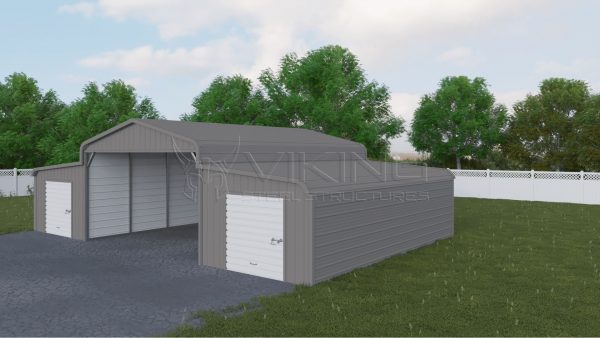 42x21 Steel Horse Barn