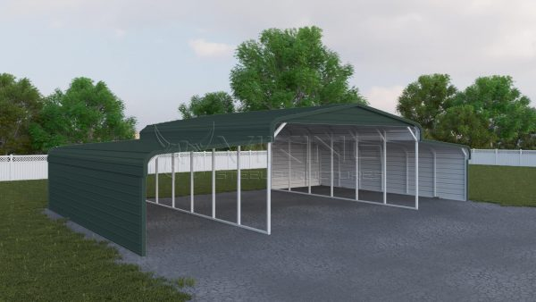 48x31 Metal Horse Shelter