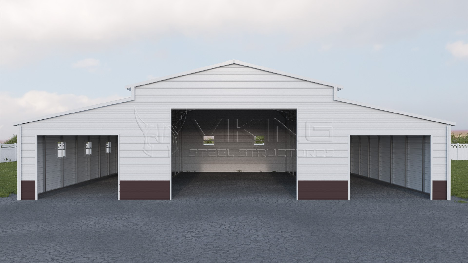 Carolina Carports And Garages Estimator : Enclosed carolina barn building